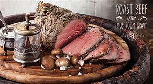 This image has an empty alt attribute; its file name is roast-beef.jpg